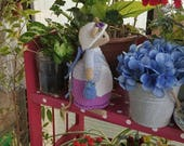 Lilly Lavender.....Inspired by the enchanting tales of Brambly Hedge....crochet mouse doll