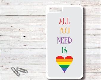 Lgbtq phone case, Gay pride phone case, Gay phone case, rainbow pride, rainbow phone cover, gay pride, rainbow art, Bi pride