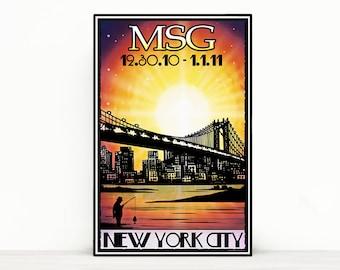 Phish Poster - Madison Square Garden NYE 2010