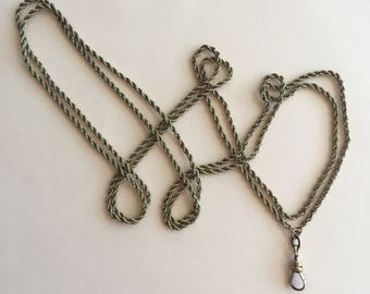 Antique Victorian Long Gold Filled Chain with Dog Clasp