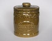 vintage monmouth cookie jar
