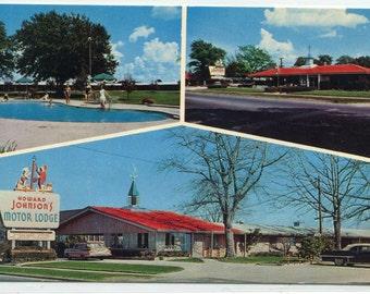 Howard Johnson Motor Lodge Restaurant Motel US 301 Allendale South Carolina postcard