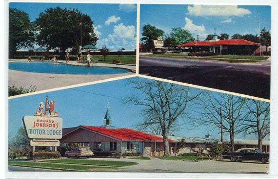 Howard Johnson Motor Lodge Restaurant Motel Us 301 Allendale