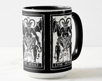 Devil Tarot Card coffee or tea mug