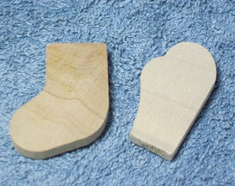 Wooden Stockings and Mittens