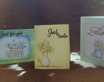 cards, just for you, just a note, hello