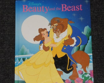 Beauty and the Beast Book-Walt Disney's-Copyright 1991