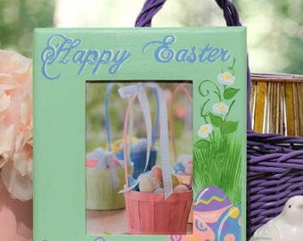 Personalized Easter Picture Frame