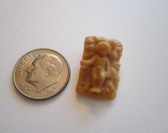 vintage miniature baby Jesus - dollhouse baby Jesus - nativity miniature