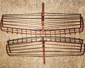 Clam Rake / Cast Iron  / Nautical
