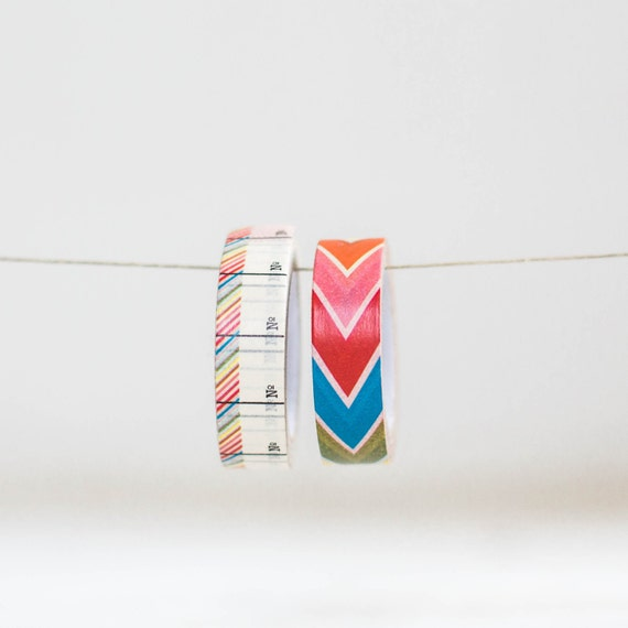 Paper Tape 2 Roll set-  15mm each