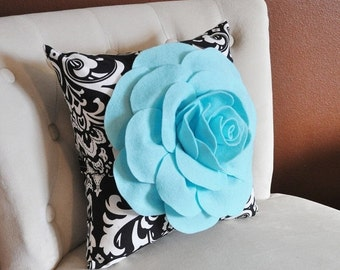 Black And White Pillow Etsy
