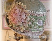 Special Order for D ONLY ---Antique Style 1920s Gatsby Flapper Downton Abbey Cloche---final Payment