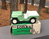 Vintage Tonka No. 30 Jeep with Box