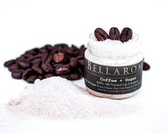 NEW! Coffee + Sugar LIP EXFOLIATOR