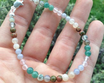 Heathy Pregnancy Bracelet - supports pregnancy, childbirth, and lactation - reduces nausea, headaches, and stress