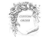 CUSTOM ORDER for TG (Trina) - Unbreakable Relic Chaplet of St. Dymphna