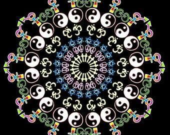 Coexist Mandala