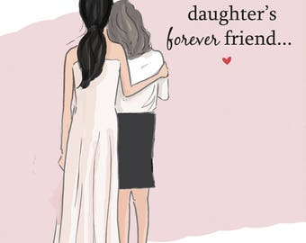 Mom and Daughter Art - Daughter's Forever Friends - Art for Moms and Daughters - Inspirational Art for Women - Just Like You, TWO