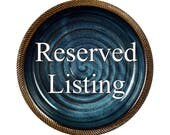 Reserved Listing for Judy