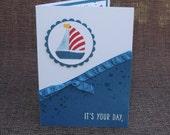 Birthday  Card - sailboat