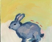 Can We Stay Home All Day?: Bunny Painting