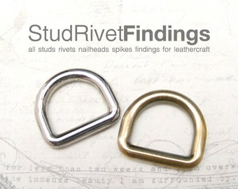 4pcs 19mm ZINC D-ring FOB Purse Hardware Finding for Purse Ring, Clasps Hook Ring dr04/ High Quality