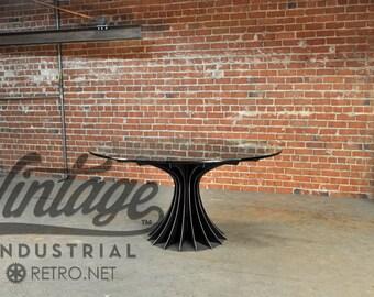 Vintage Industrial Compressor Table