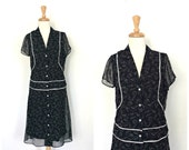Vintage Drop Waist Dress ...