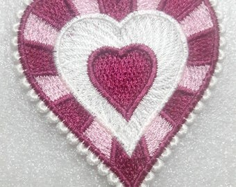 Lace Heart ornament