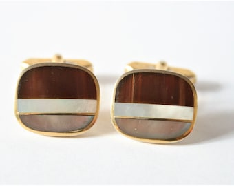 Vintage cufflinks.  Mother of Pearl cufflinks
