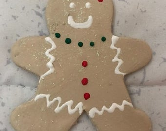 Christmas Tree Ornament - Gingerbread Man