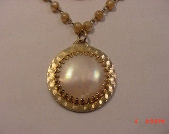 Vintage Faux Pearl Necklace   16 - 755