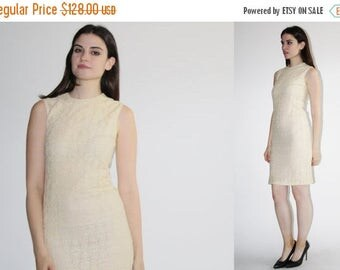 80% OFF FINAL SALE - 50s Jonathan Logan Ivory Lace Dress - Vintage Lace Wiggle Dress -  Vintage Wedding Dress - The Quiet One Dress  - 8069