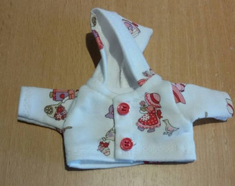Hooded jacket for approx. 6.5-7 inch baby