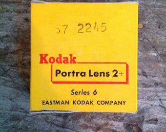 Vintage New in Package Kodak Portra Lens Series 6 2+
