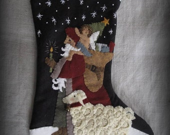 Light of the World Stocking E-PATTERN by cheswickcompany