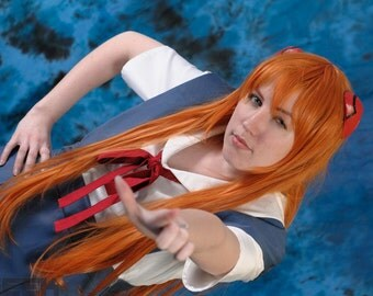 Asuka Langley Soryu Evangelion School Uniform - AS IS
