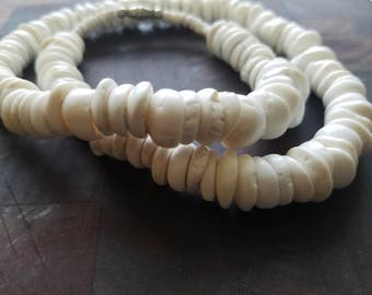 Vintage Hawaiian Puka Shell Necklace Handmade