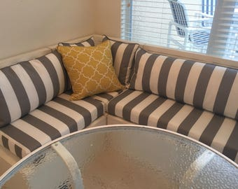 Banquette Cushions and Covers