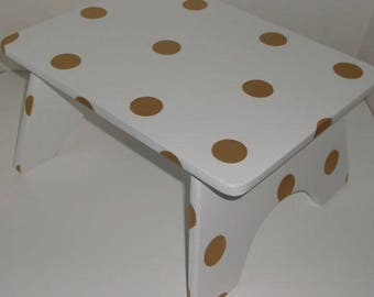 Childrens, Custom, Wooden  Step Stool,  ANY Design or color
