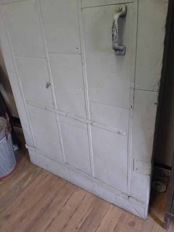 Vintage Industrial Fire Doors For Sale : S fire door sliding barn industrial
