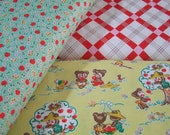 Reserved for Sheepcakes Apple Farm Fabric by the Yard Bundle Elea Lutz Riley Blake