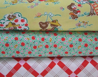 Apple Farm Fabric Half Yard Bundle Elea Lutz Riley Blake