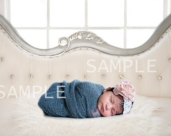 Digital newborn prop