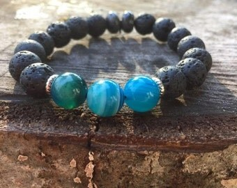 Essential Oil Duffuser Stretch Bracelet~Ready to Ship~FREE SHIPPING