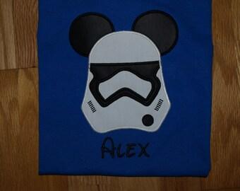 Storm Trooper Mickey Head