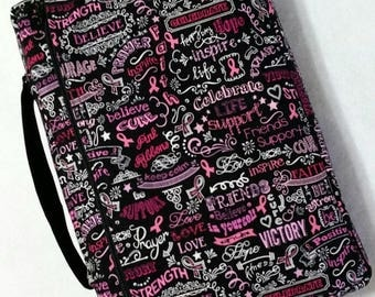 Bible Cover Breast Cancer Awareness