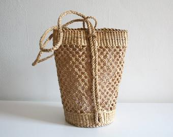 Sisal Sling Bag and Backpack