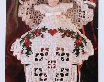 2001 Christmas Angel in my Heart - by Emie Bishop with Card and envelope